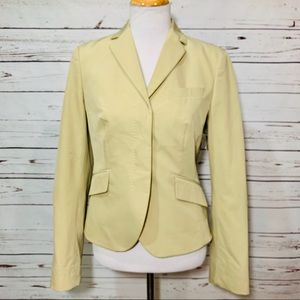 {HUGO BOSS} Tan Fitted Suit Jacket / Blazer